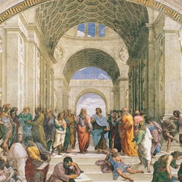 Η διάσημη τοιχογραφία στο Βατικανό