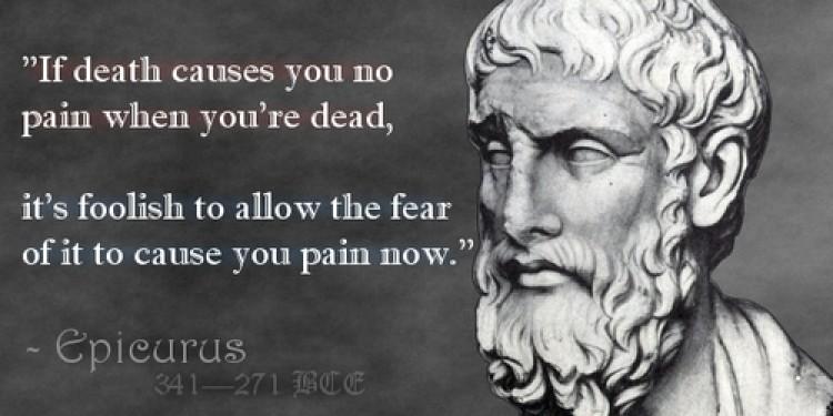 Η Επικούρεια αποτροπή του φόβου του θανάτου